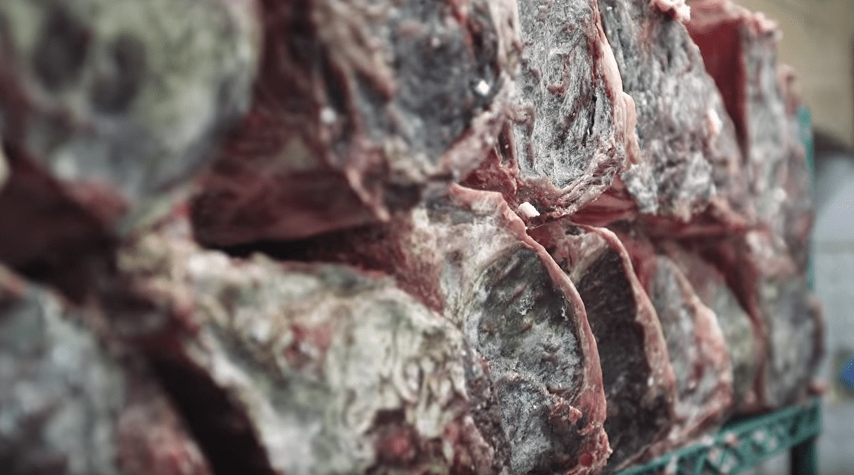 how to dry age meat