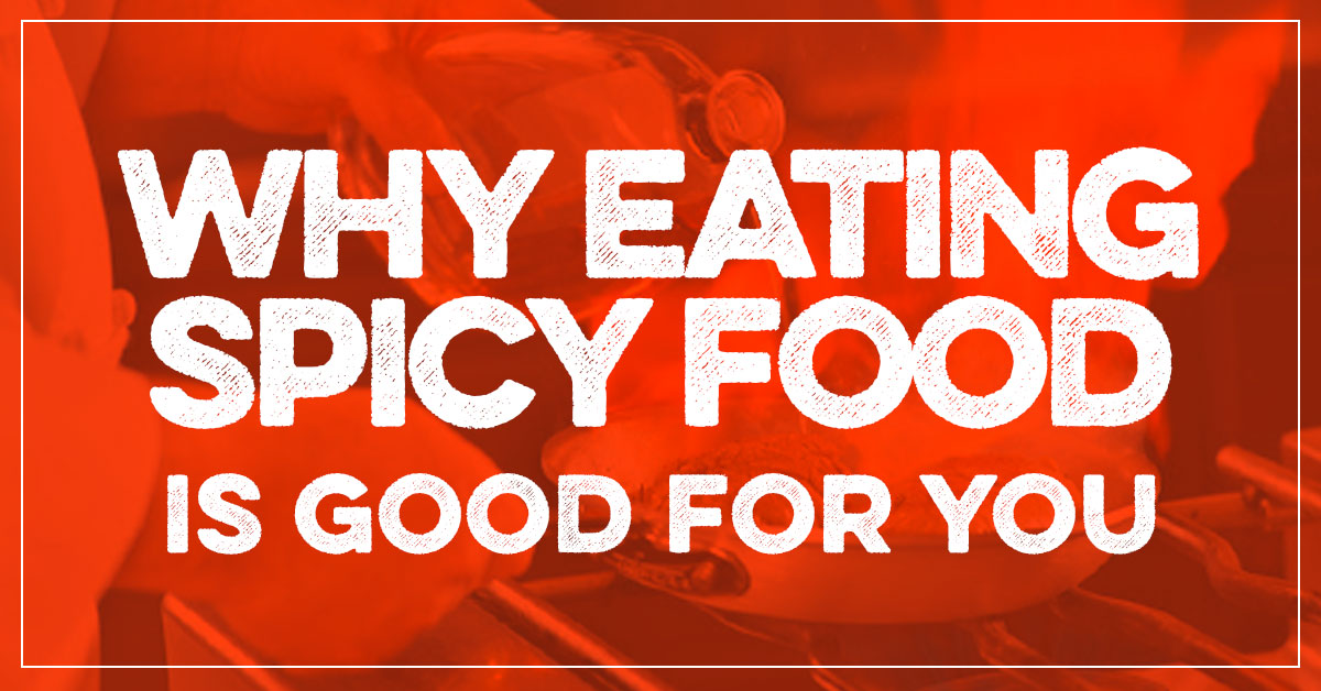 eating spicy food