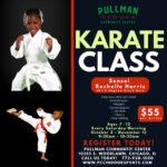 Pullman Karate Class – Fall 2021
