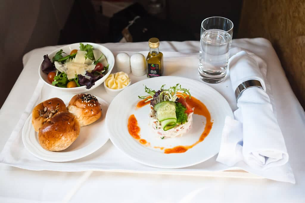 Singapore Airlines - food tech news in asia