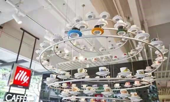illy cafe in China - food tech news in Asia