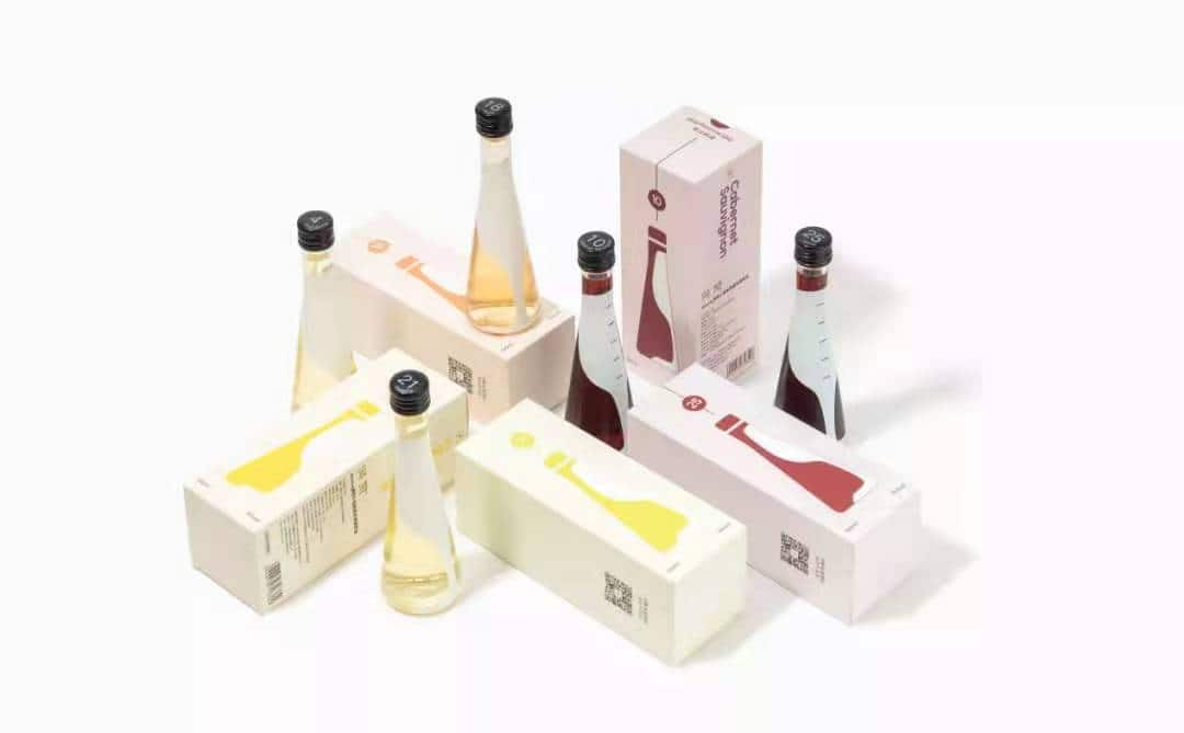 Mizzing small-bottle wine - food tech news in Asia