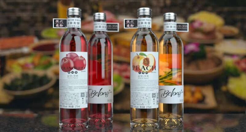 Low Alcohol brand Belong - food tech news in Asia