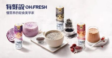 Healthy food Oh! Fresh - food tech news in Asia