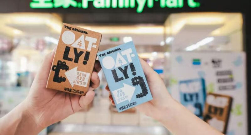 OATLY and FamilyMart in China - food tech news in Asia