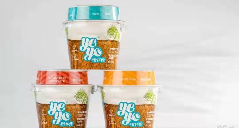 Yeyo The first plant-based coconut yogurt - food tech news in Asia
