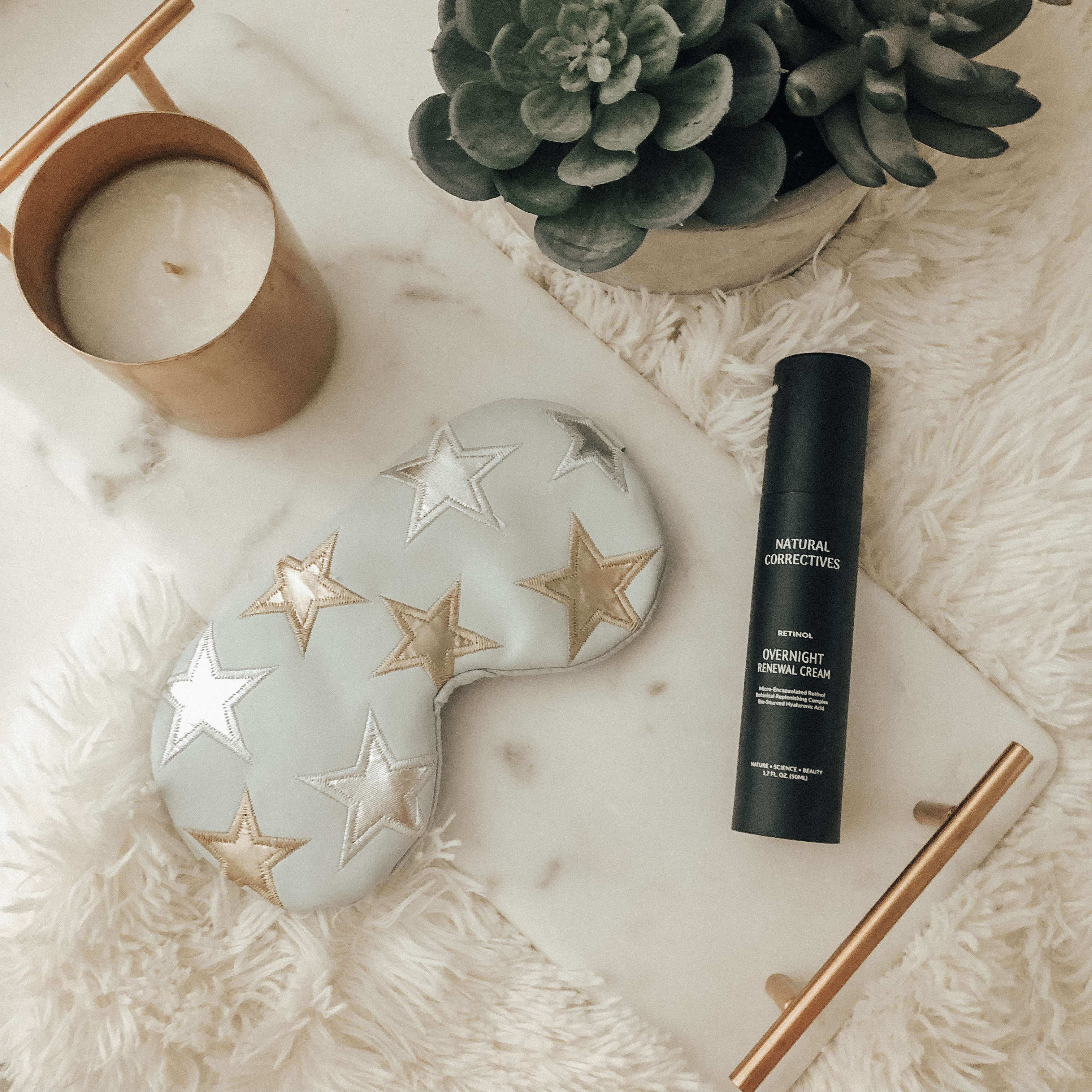 ADDING NATURAL CORRECTIVES RENEWAL CREAM TO MY NIGHTTIME ROUTINE- Jaclyn De Leon Style + beauty tips + retinol cream + skin care + anti aging cream +beauty secrets + natural anti aging and soothing ingredients + products to use + bedtime routine