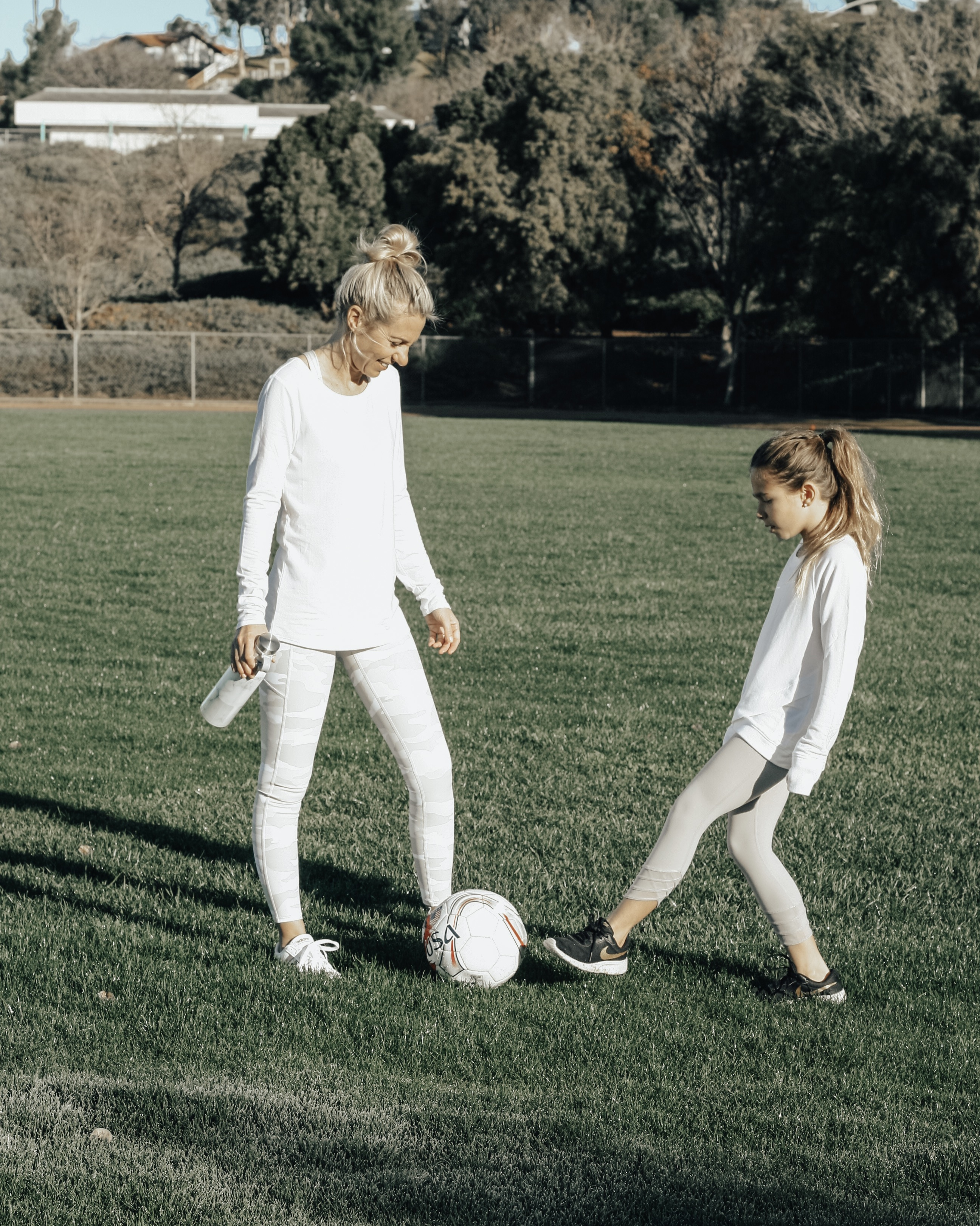 NATIONAL GIRLS & WOMEN IN SPORTS DAY WITH ATHLETA- Jaclyn De Leon Style + athleta girl + mommy and me + soccer + mom life + kid style + athletic wear + athleisure + mom style + supporting our children in sports