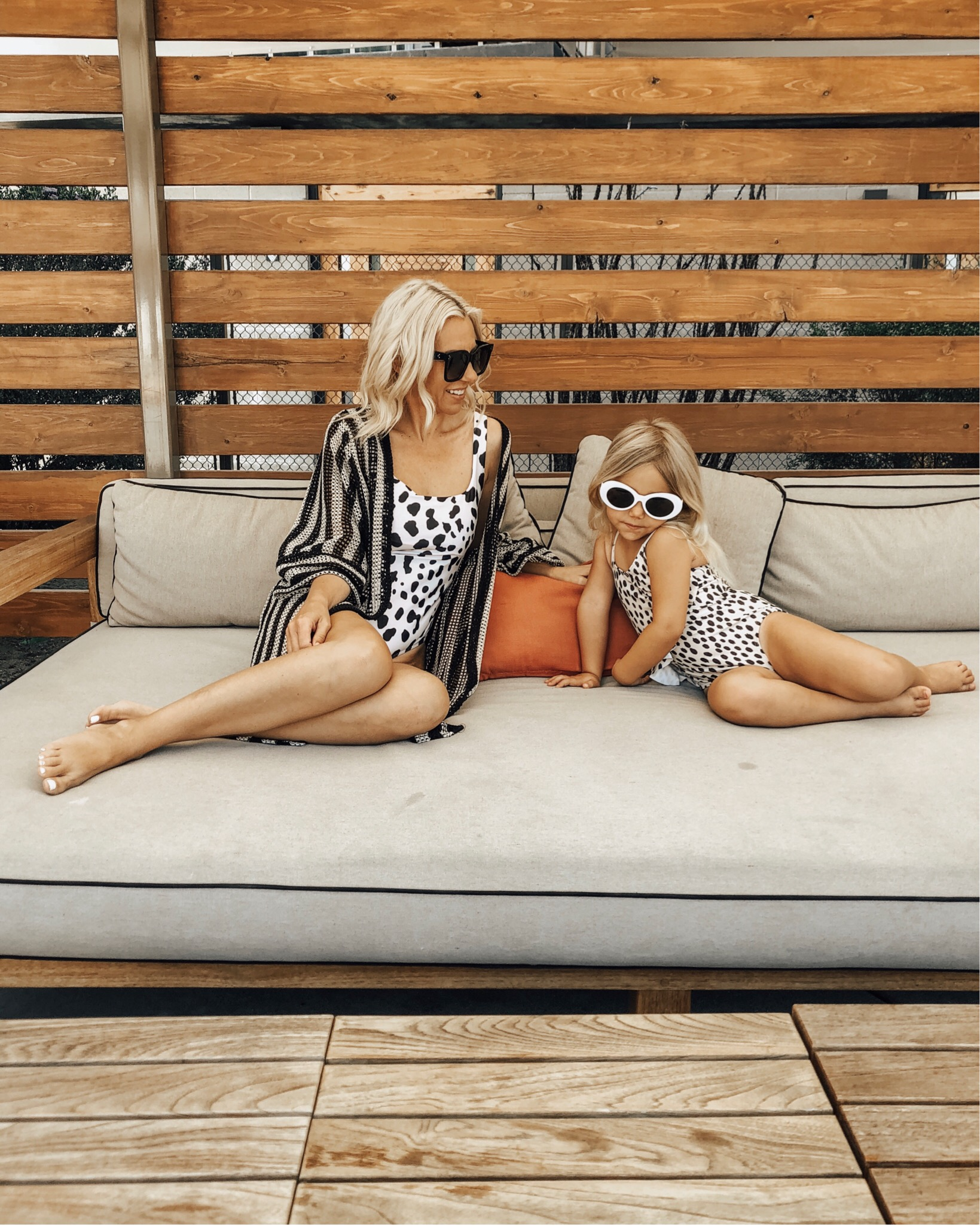 MOMMY & ME SWIMSUITS- Jaclyn De Leon Style + If you love matching with your little ones as much as I do then this post is for you. I'm sharing tons of cute and affordable mommy & me swimsuits just in time for summer