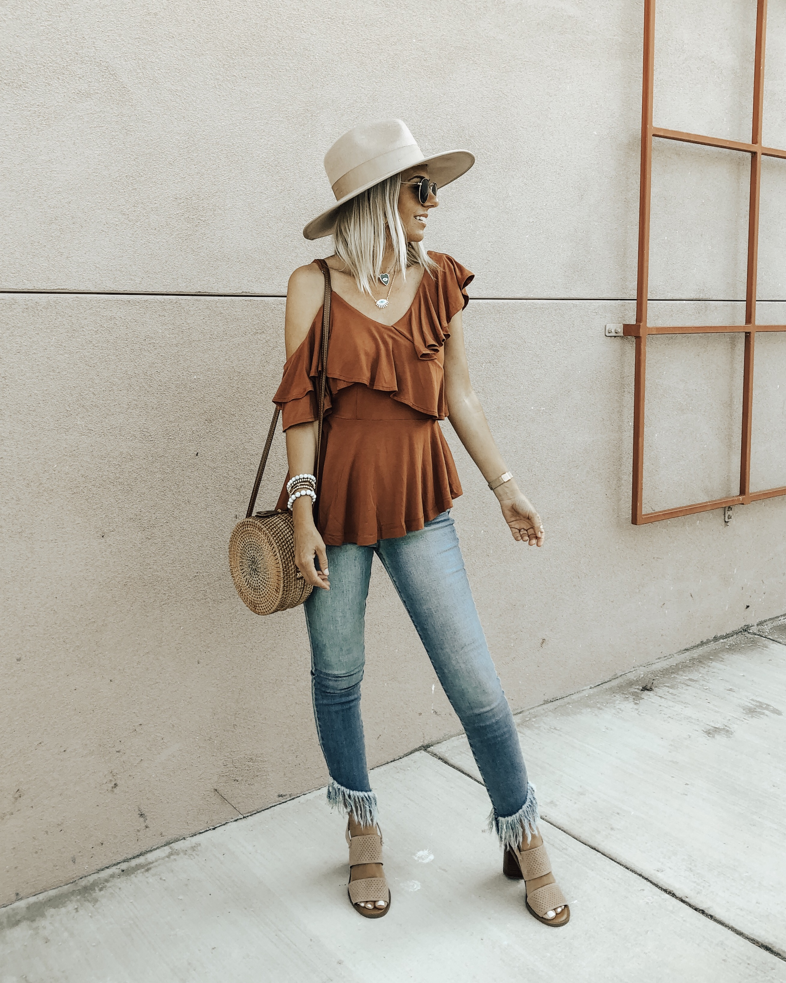 THE BEST DENIM FOR FALL FROM WALMART- Jaclyn De Leon Style + Are you shopping for new denim for back to school. I've rounded up my favorite + most affordable denim from Walmart.