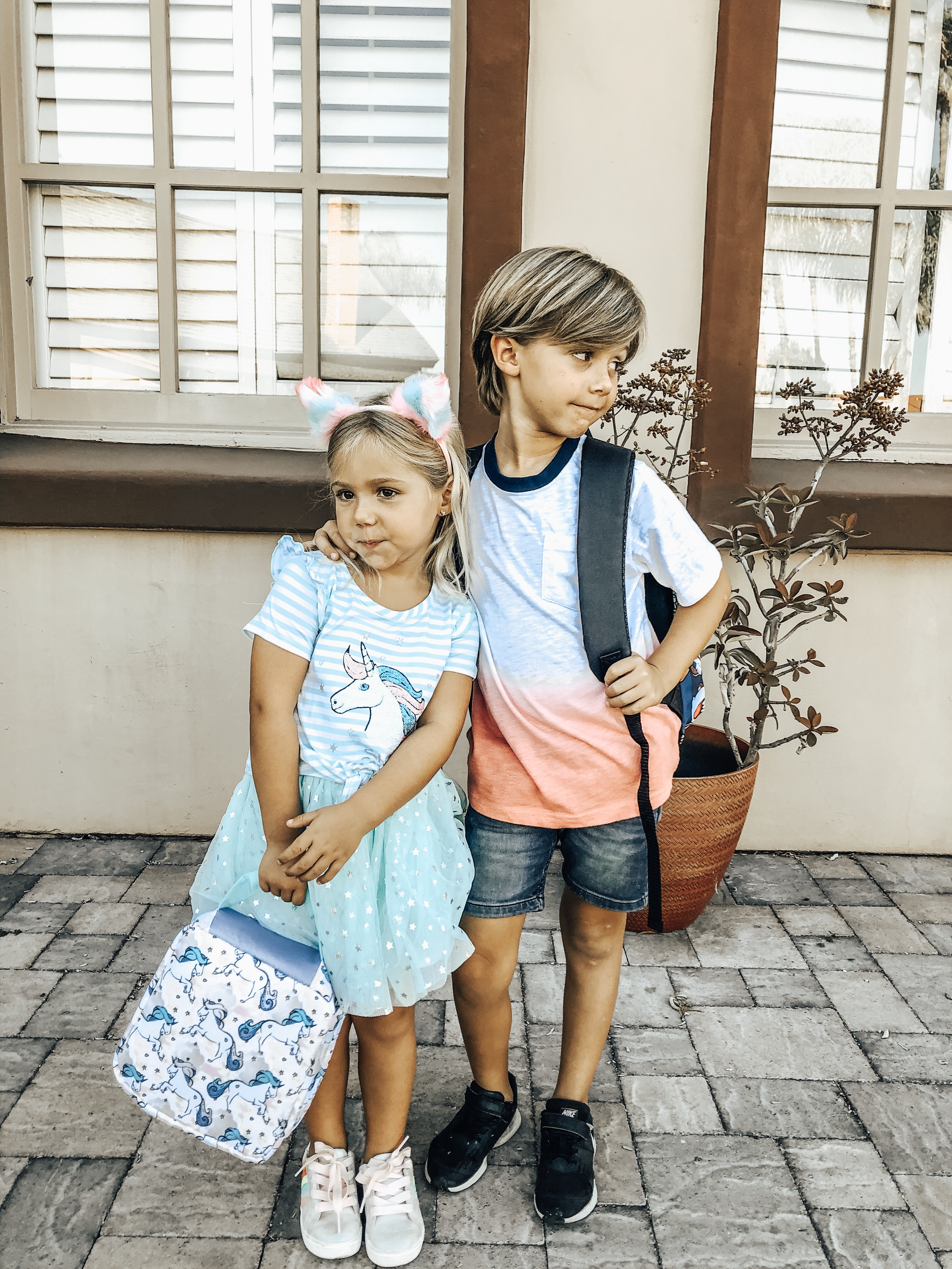 BACK TO SCHOOL WITH WALMART- Jaclyn De Leon Style= The kids are heading back to school and I'm sharing all the must have's from backpacks and lunches to kid style. And everything is affordable and a one stop shop from Walmart.