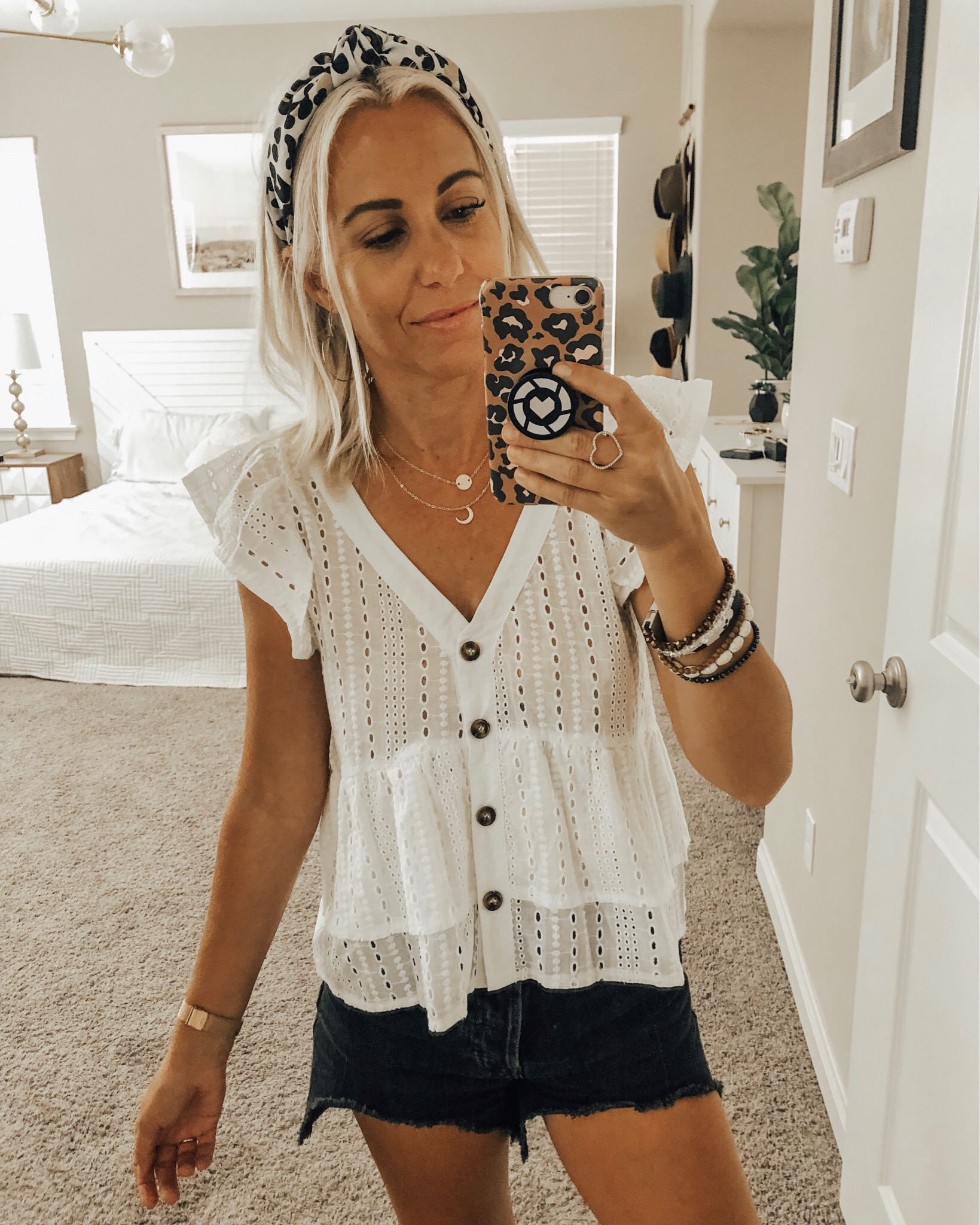 AUGUST TOP 10- Jaclyn De Leon Style + Sharing all of last months top selling items from my favorite travel jewelry case, a cute walmart ruffle top, leopard tank, the best snakeskin booties and so much more!