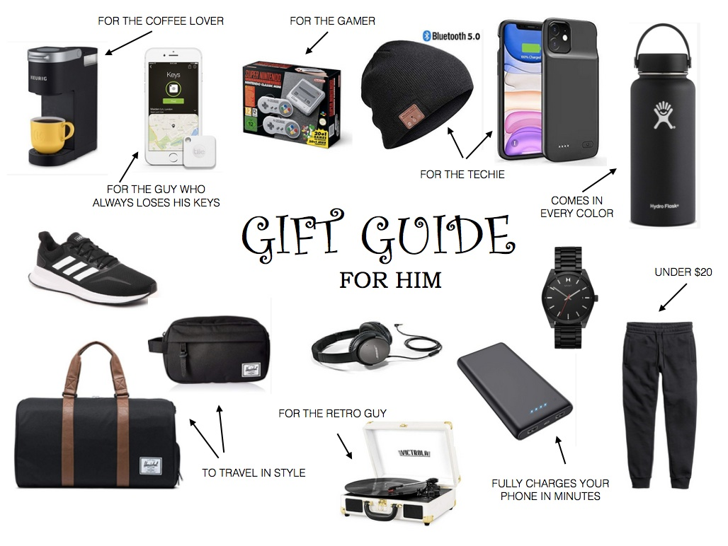 GIFT GUIDE FOR HIM- Jaclyn De Leon Style- Guys are definitely the hardest to buy for so I decided to round up Rod's favorite items + gifts I've given him in the past to help you shop