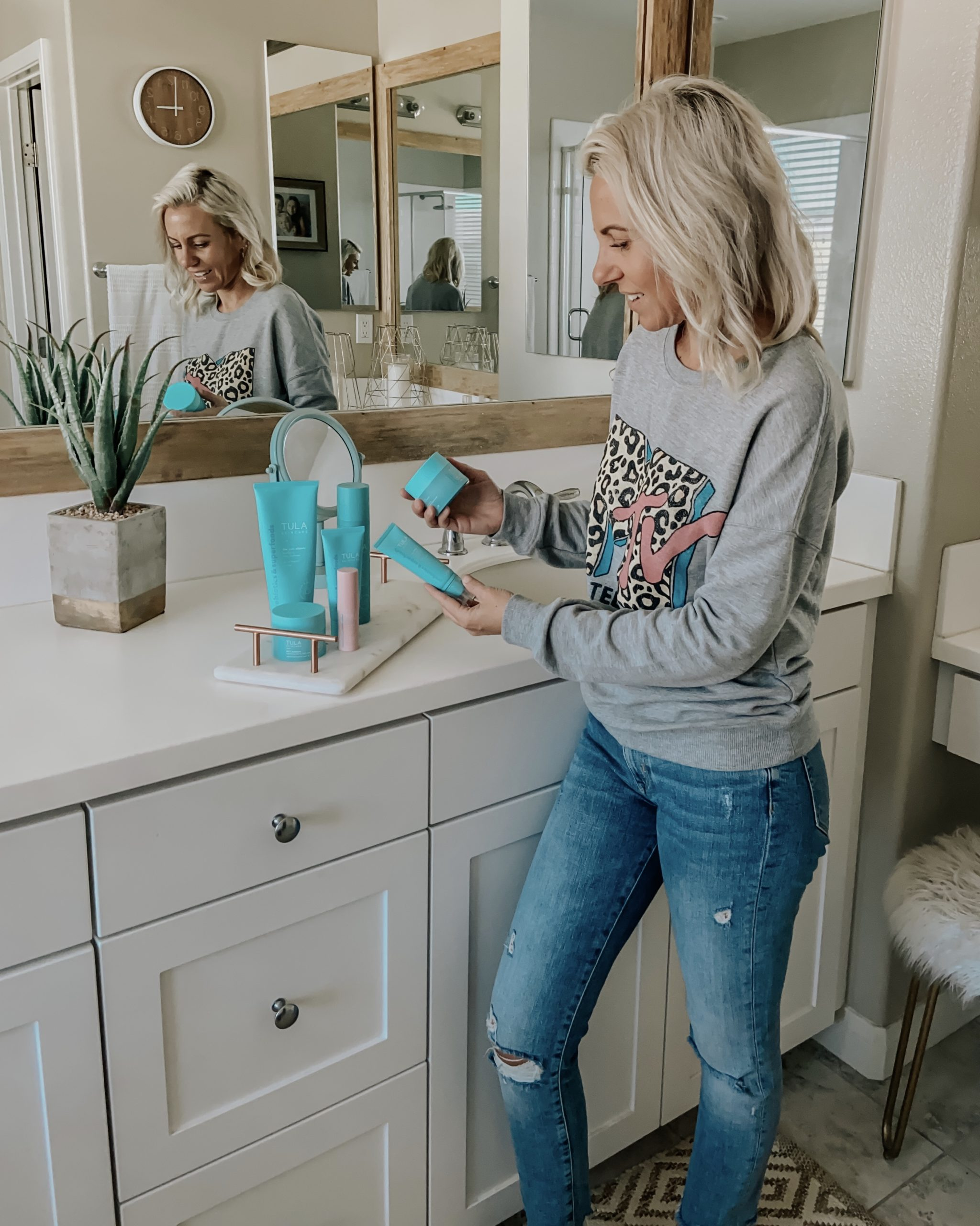 TULA FAVORITES- Jaclyn De Leon Style+ Tula is one of my absolute favorite skincare brands and since I have so many of their products I thought I would run down my top favorites