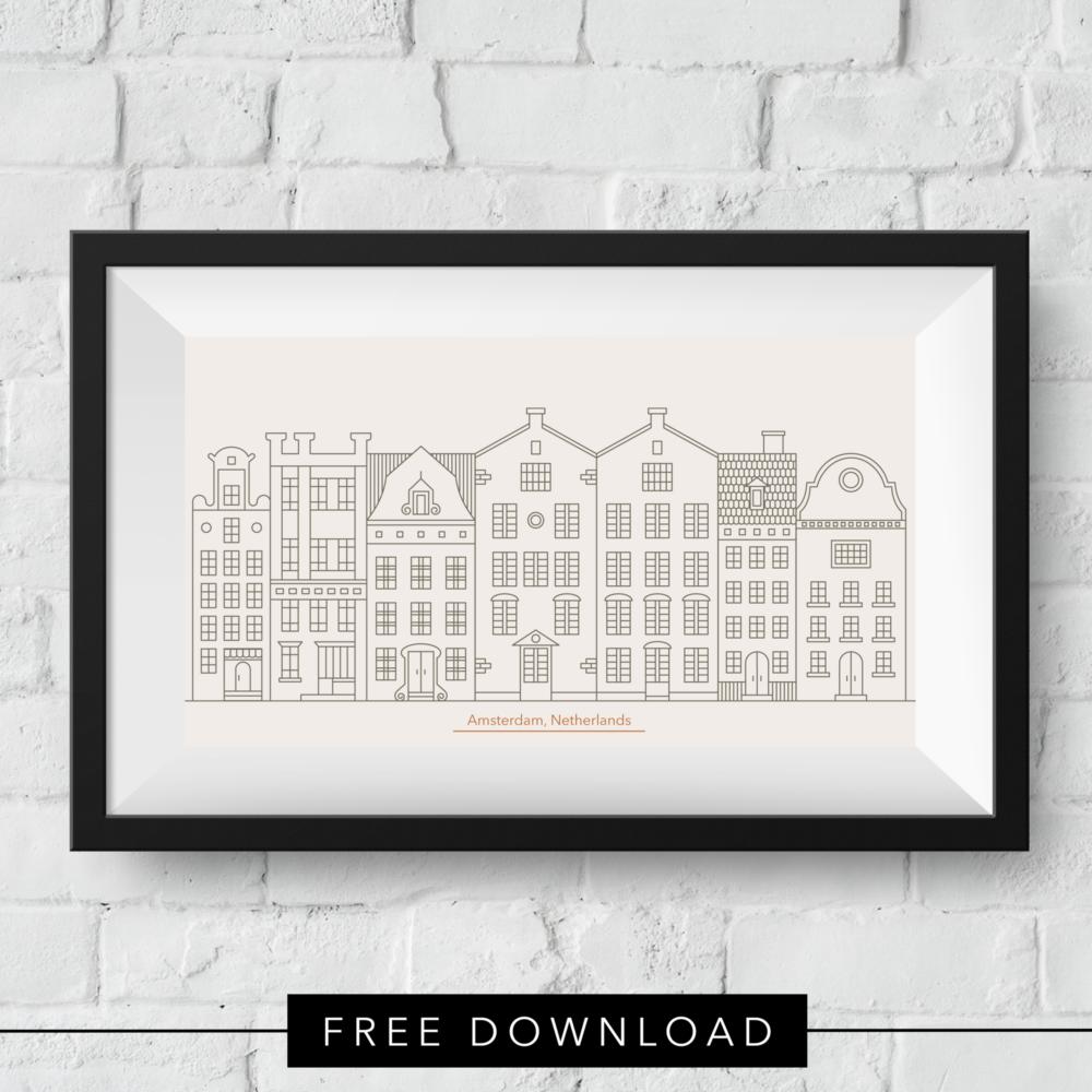 amsterdam-skyline-free-download