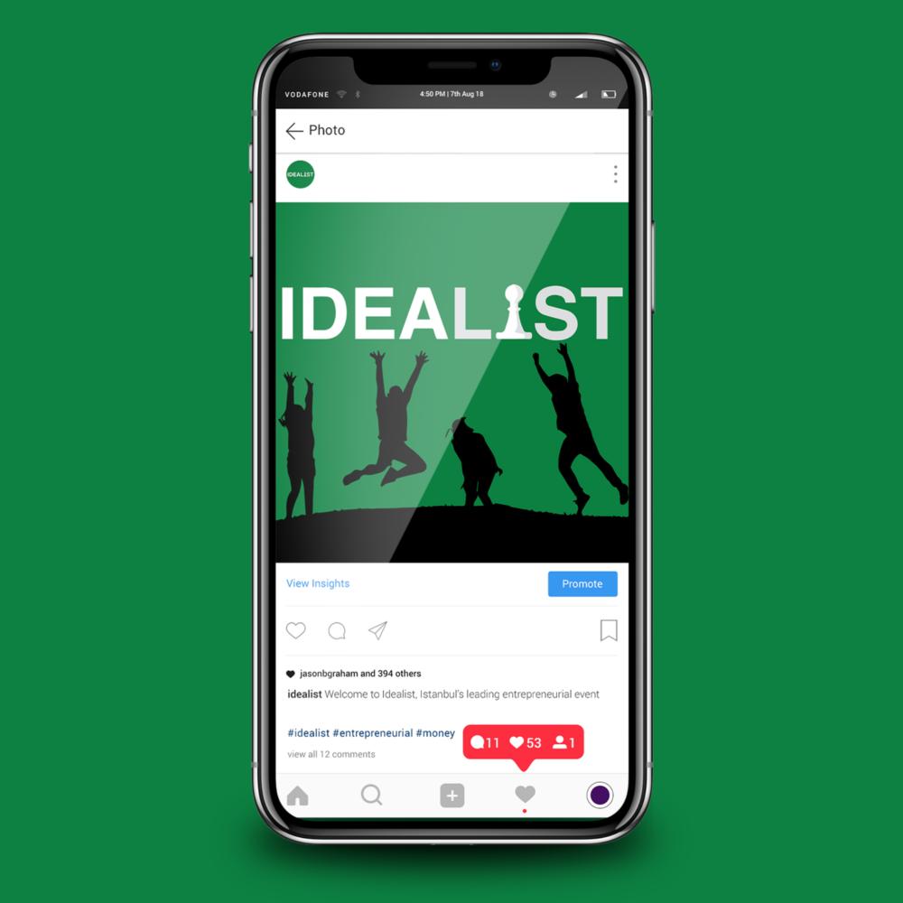 idealist-social-media-content