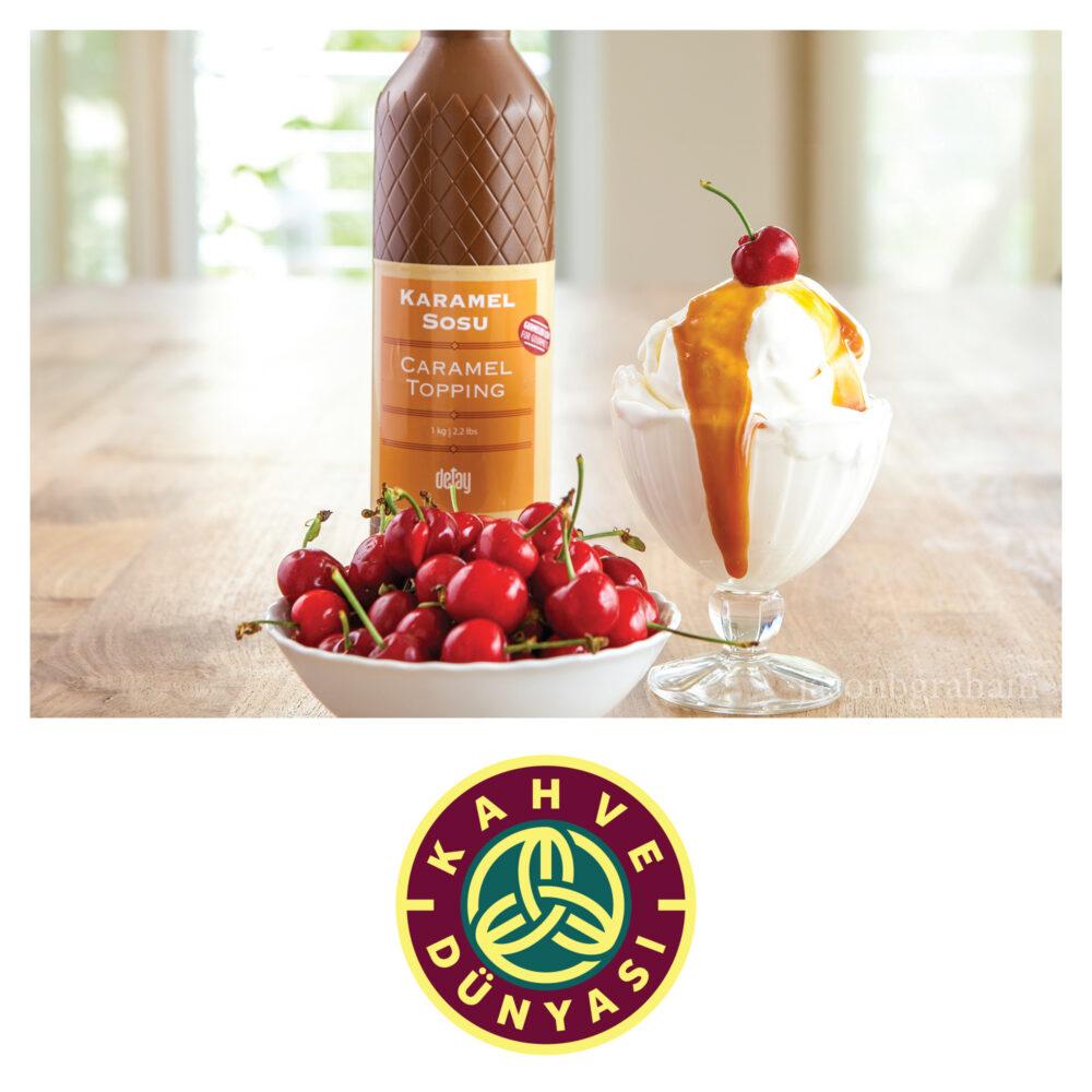 jason-b-graham-kahve-dunyasi-caramel-topping-with-ice-cream
