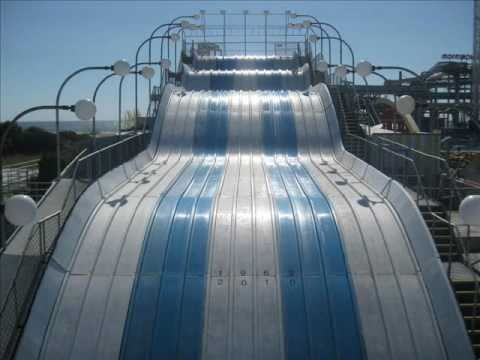Morey's Piers Wipe Out Slide - Final Slide