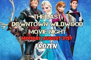 The Last Downtown Movie Night - Frozen