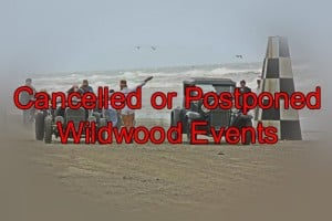 Cancelled Wildwood Events For Hurricane Joaquin