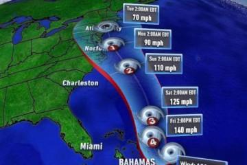 Hurricane Joaquin Gears Up Wildwood 2