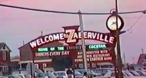 Ed Zaberers Old Sign