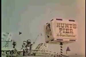 Footage of Old Hunt's Pier