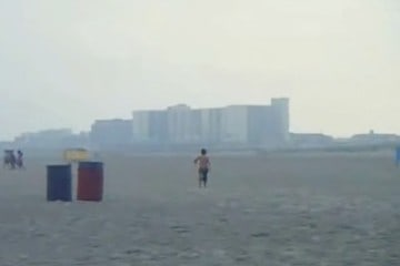 Kite-Flying in Wildwood 2012