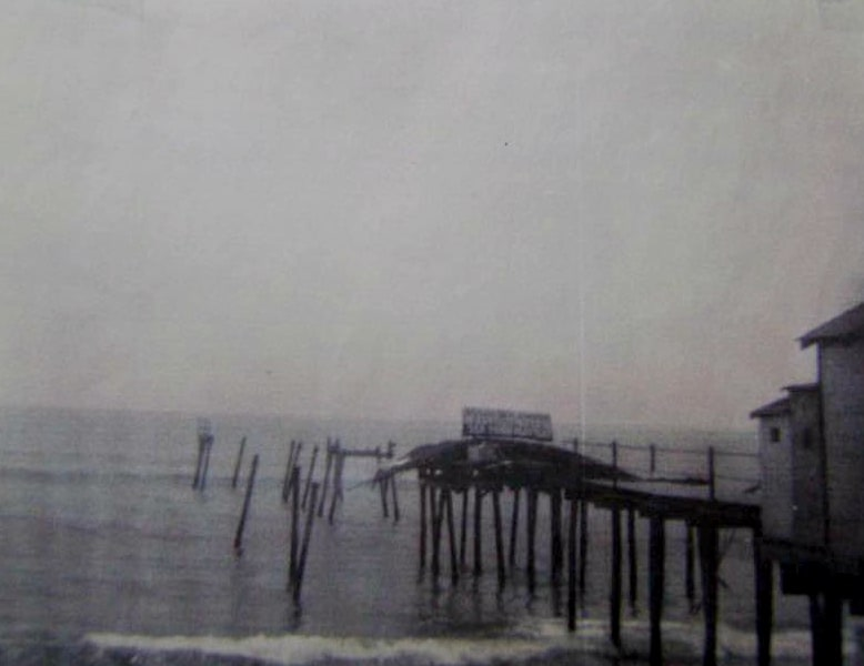Ocean Point Pier Storm
