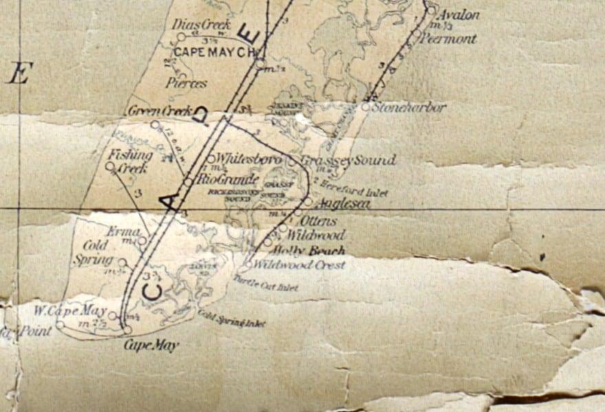Anglsea 1913 North Wildwoo