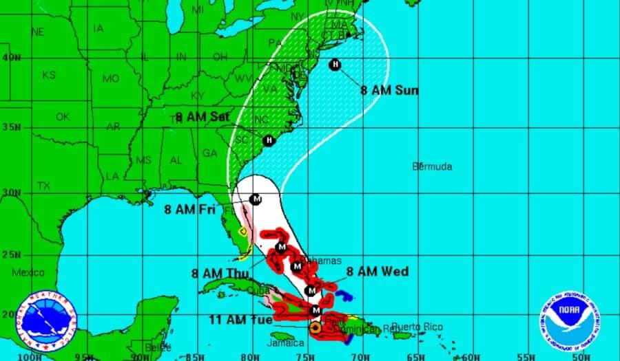 Hurricane Mathew Update and Poll Wildwoo