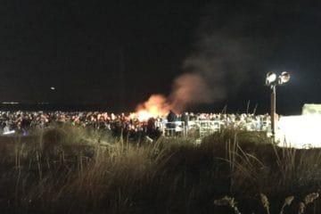 North Wildwood Bonfire