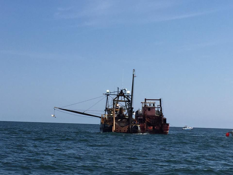 Ship Sunk At The Wildwood Reef