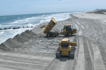 Rebuilding North Wildwood's Beaches