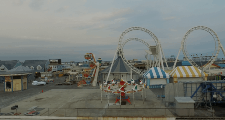 Morey's Piers New Ride Update