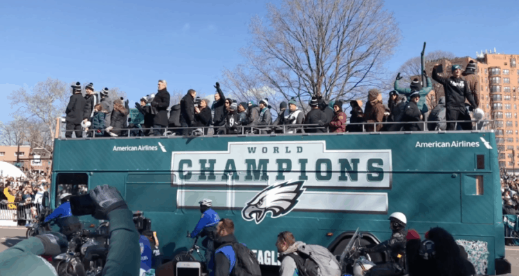 Philadelphia Eagles Super Bowl Parade 2018
