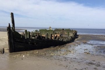 South Jersey's ghost ship