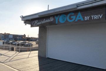 Boardwalk Yoga Update