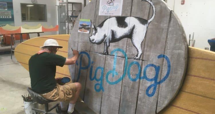 PigDog Beach Bar Update