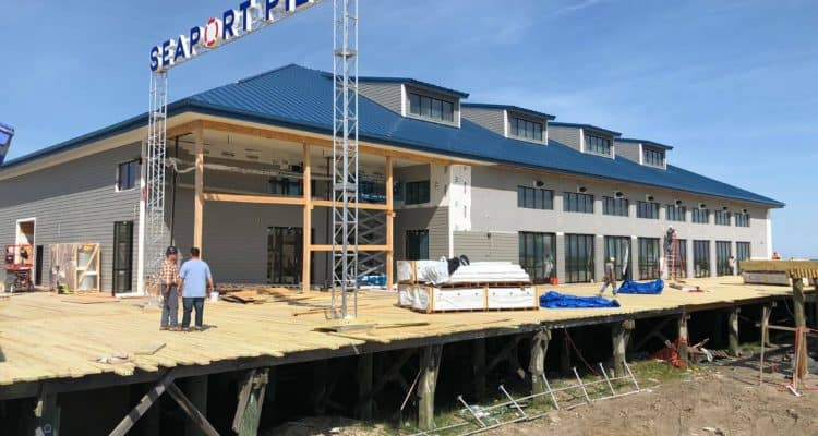 Seaport Pier To NOT Open For MDW