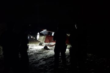 Plane Lands On Cape May Beach