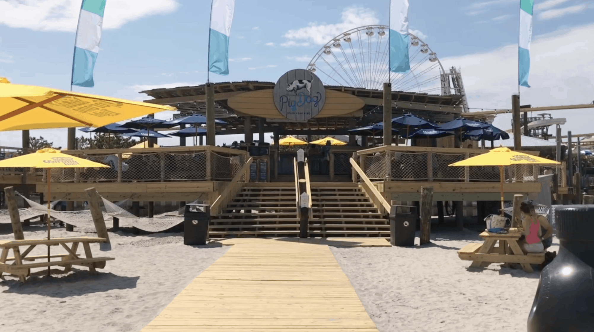 PigDog Beach Bar Tour
