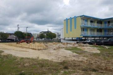Construction Starts On NEW Wildwood Motel