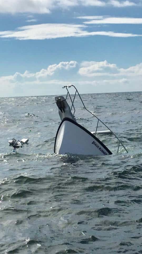 Rescue Made At Sea