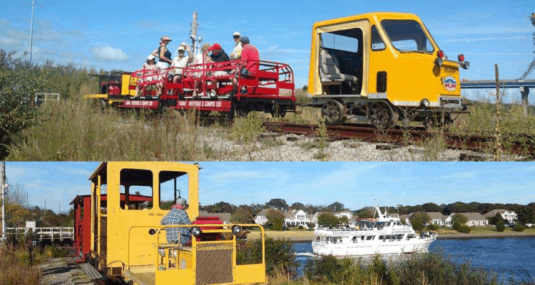 Motorcar Trains Are Coming to Cape May