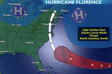 Hurricane Florence Sunday Update