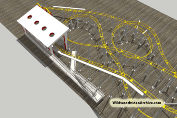 Morey's Runaway Tram Coaster Update