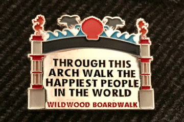 NEW North Wildwood Arch Pins Are In!