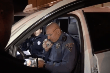Wildwood Police Officer Retires (Watch Final Sign-off)