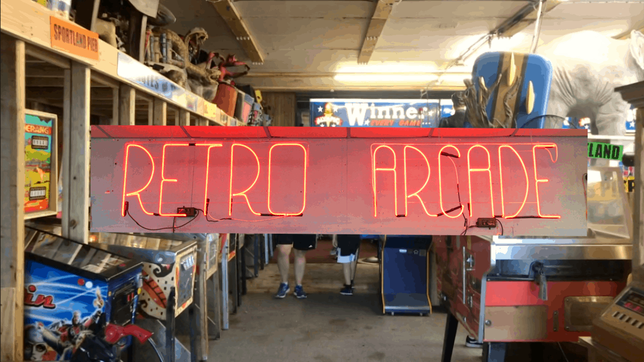 The Retro Arcade Is Back In Wildwood